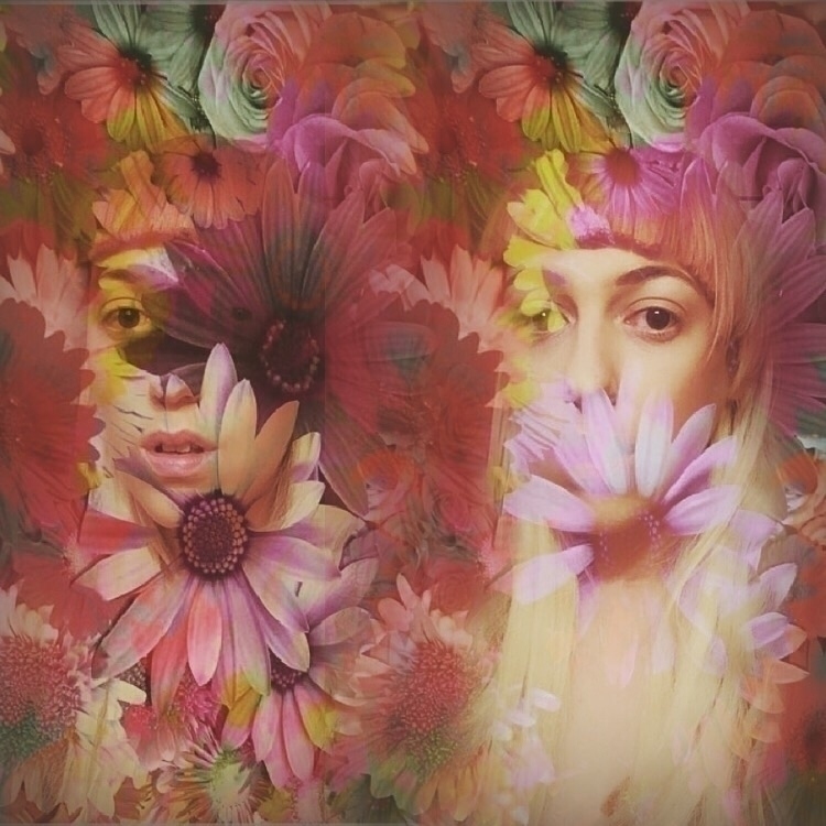 selfportrait, tripleexposure - trashandgarnish | ello