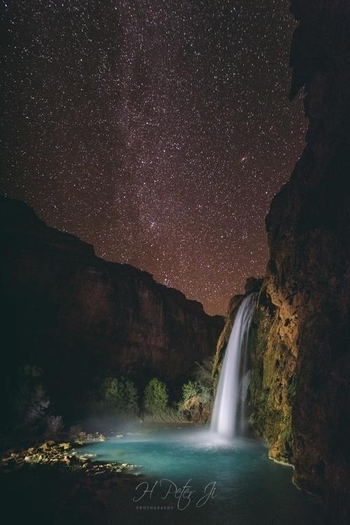 Havasupai people fall night sky - scorpioonsup | ello