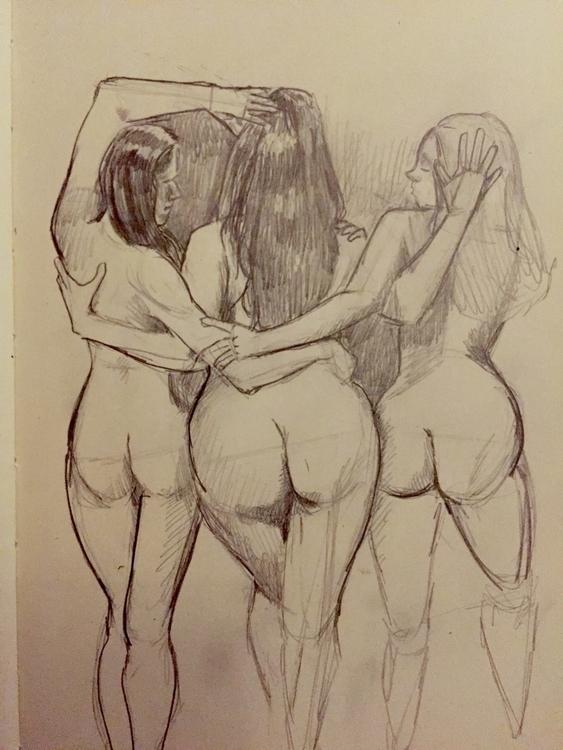 start inked drawing - cmonkey67 | ello