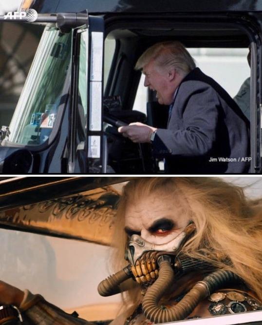 ImpeachTrump, MadMax, DumbDonald - robogiggles | ello