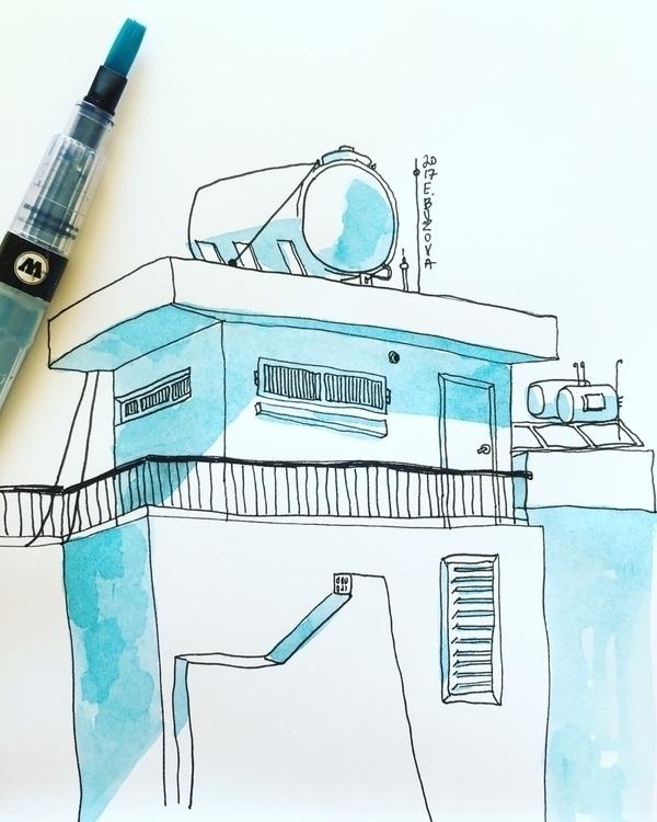 day - Artwork  - art, sketch, sketching - yd_studio | ello