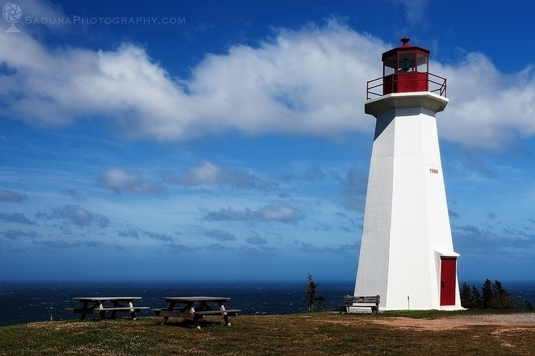 Cape George Lighthouse Nova Sco - hsphotos | ello