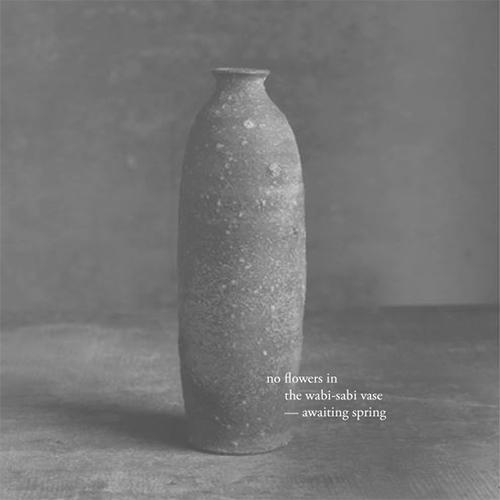 Haiku / flowers wabi-sabi vase  - kashyapi   ello