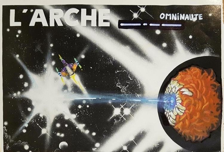 space, spacecraft, alien, omninaute - mariecaye | ello