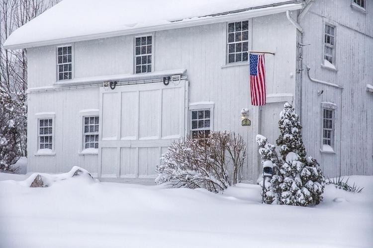 Blizzard Conditions, Avon , CT  - fjgaylor | ello