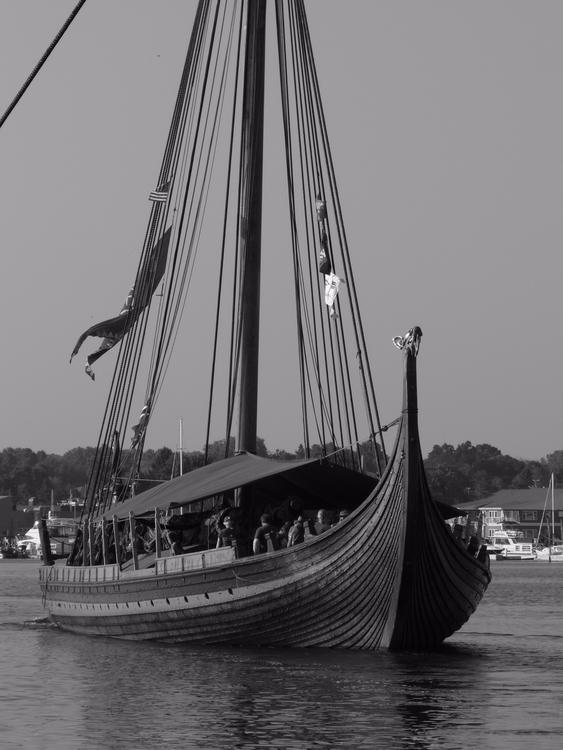 Viking Longship Draken Harald H - thepoetsdoor | ello