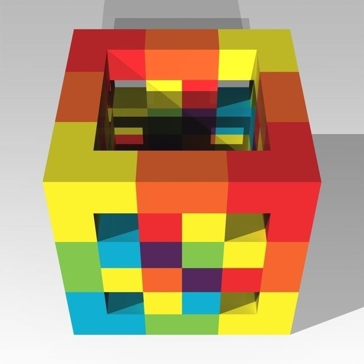 Dapple - PixelPainting, 3D, 3DPrinting - andrew_faris | ello