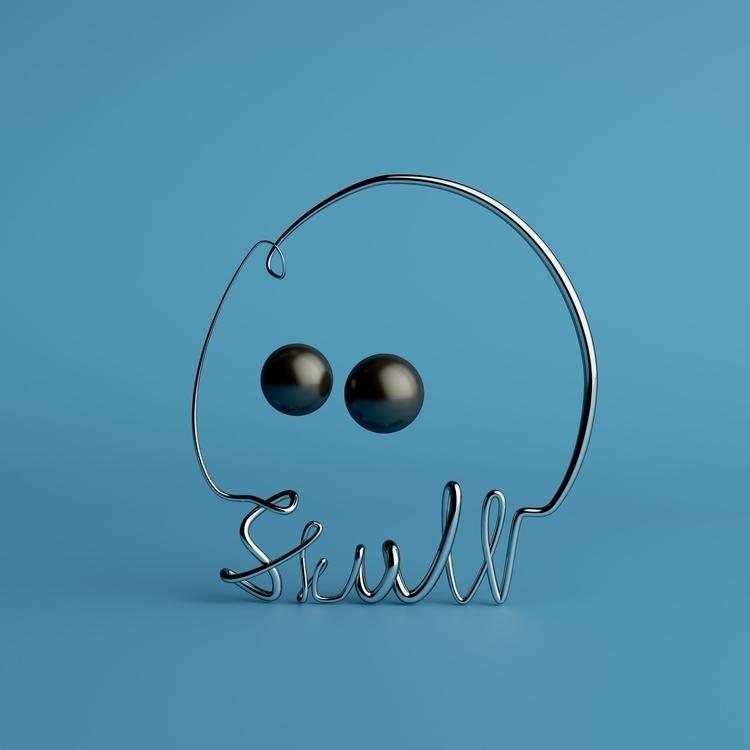 SKULL inspired work Saul Steinb - ateliermartini | ello