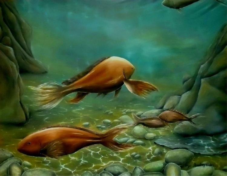 fish, underwater, deepSea, ocean - fayeanastasopoulou | ello
