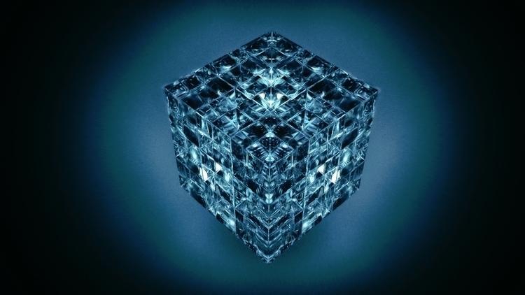 534 - Rubric Cube - everyday, cinema4d - johnrlee | ello