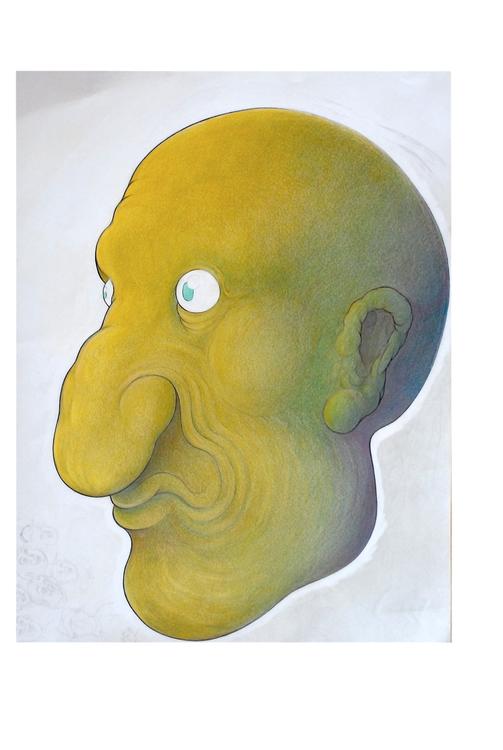 Lemon yellow face - illustration - erazio   ello