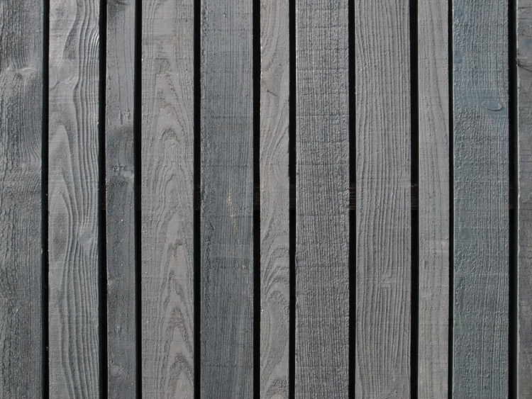 Black stained vertical boards.  - upinteriors | ello