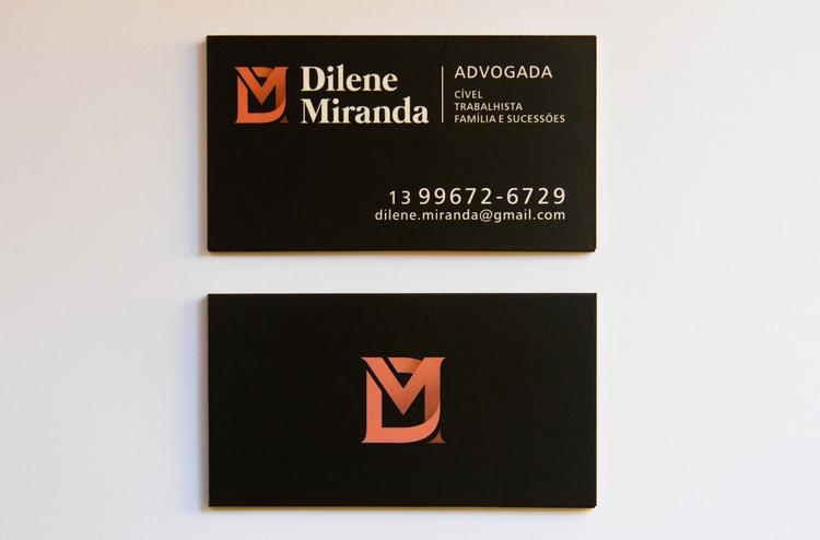 Cartão de visita Dilene Miranda - sabiacriativo | ello