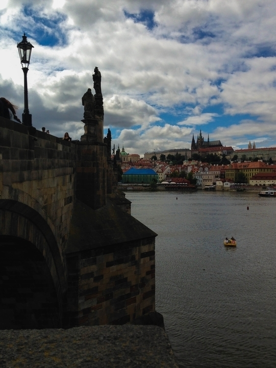 Town connecting bridge • Prague - itsduchess | ello