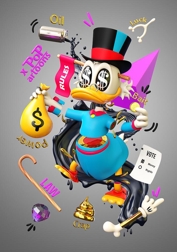 Duck Tales Nr.2  - characterdesign - theodoru | ello