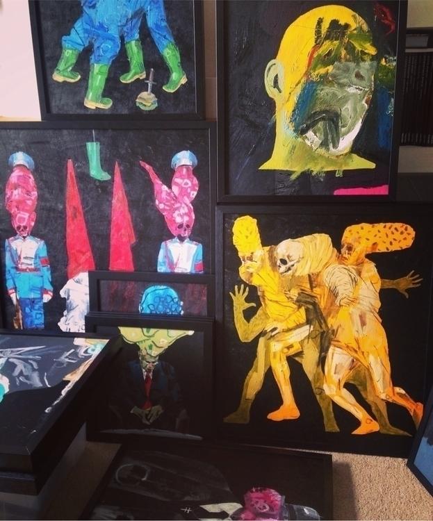 Worryingly organised start Art  - carpmatthew | ello