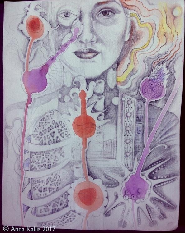 illustration, drawing, ephemeraltostay - ninamateus | ello