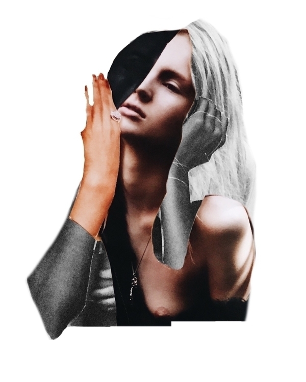 quick paper digital cut  - collage - bridgetoreilly | ello