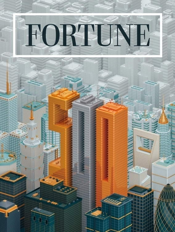 Fortune Global 500 - type, gold - molistudio | ello