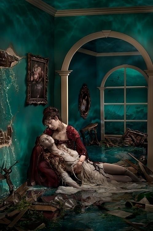 Wreckage, pieces explored love  - ransom_mitchell | ello