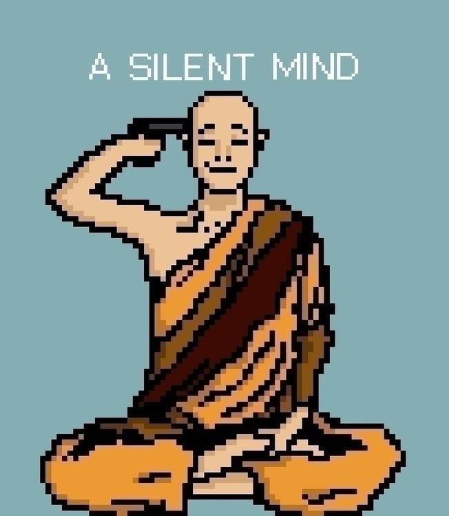 meditation - pixels, pixel, art - bankler | ello