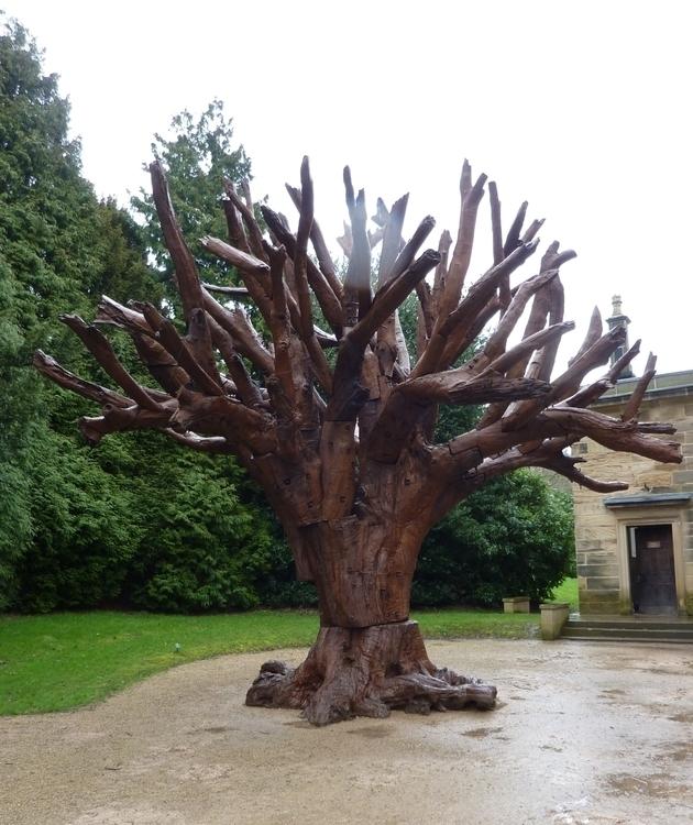 Ai Weiwei Iron Tree, 2013, iron - firehorsetextiles | ello