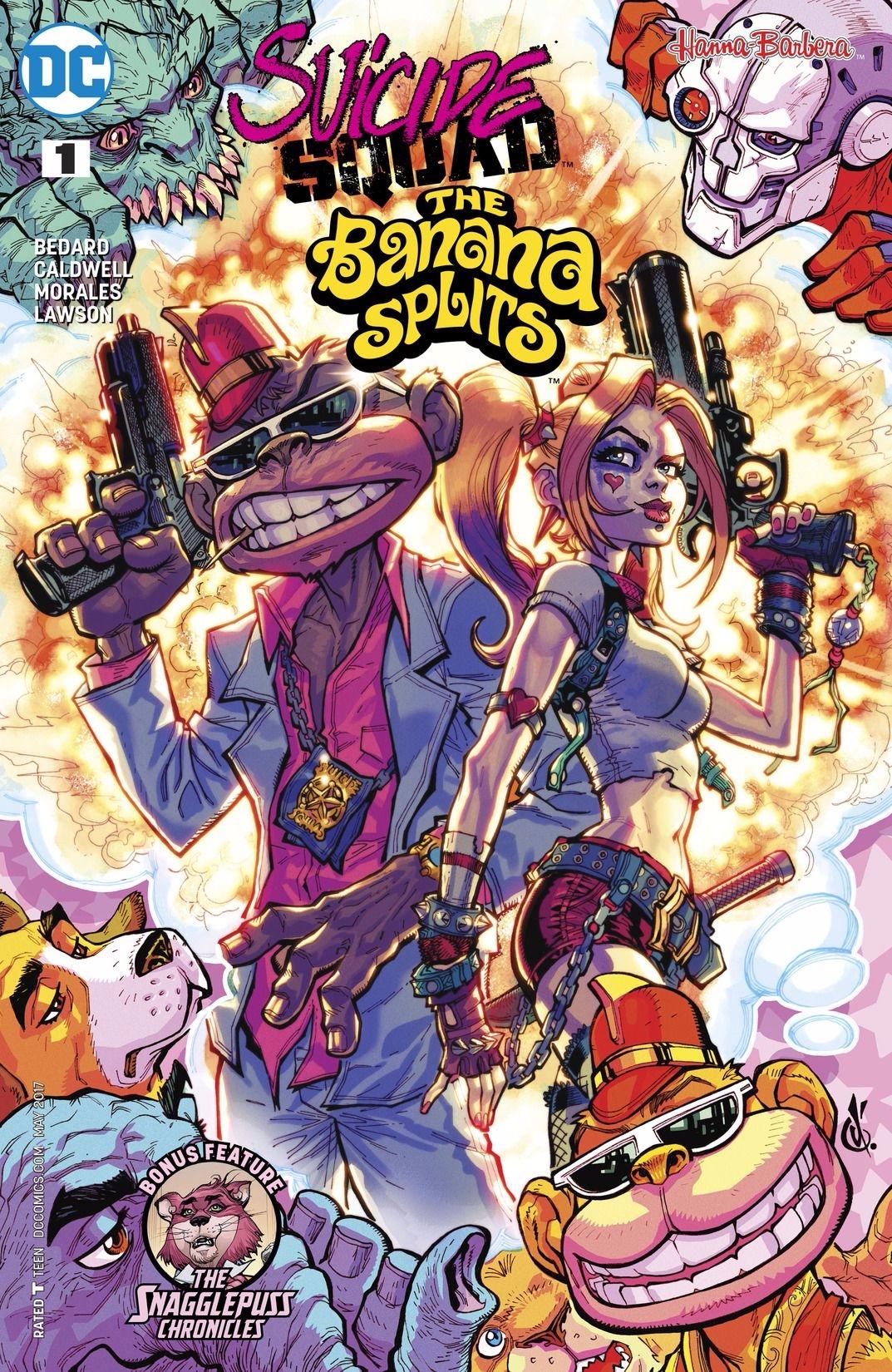 Suicide Squad Banana Splits DC  - oosteven | ello