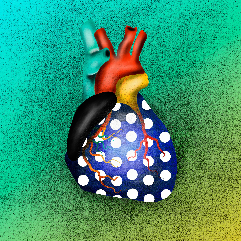 illustration poster - heart, colourful - jmelloni | ello