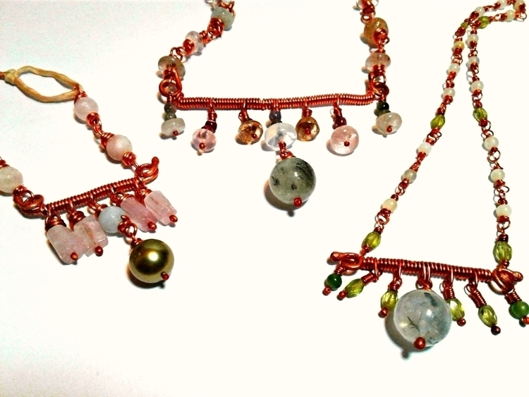 ACJ Greenery Collection necklac - amycousinjewelry   ello
