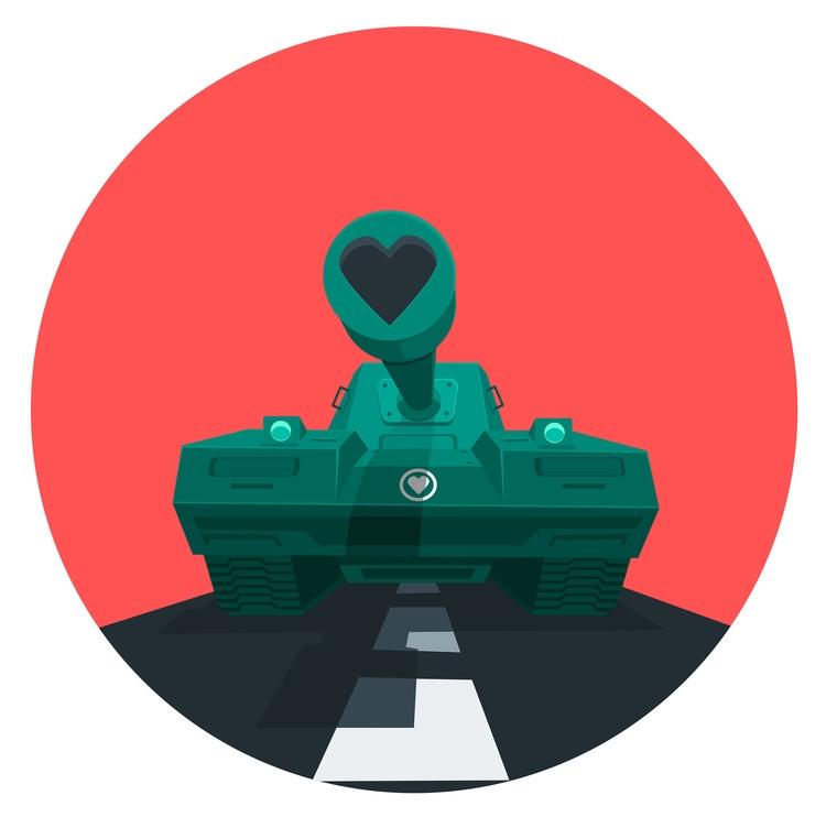 Love Tank, vector Illustration  - ozant291 | ello