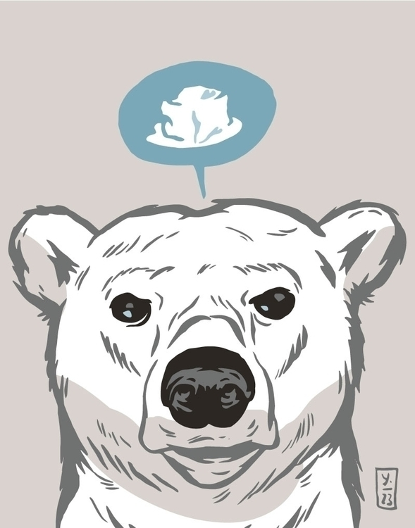 Polar Bear Request - illustration - thomcat23 | ello