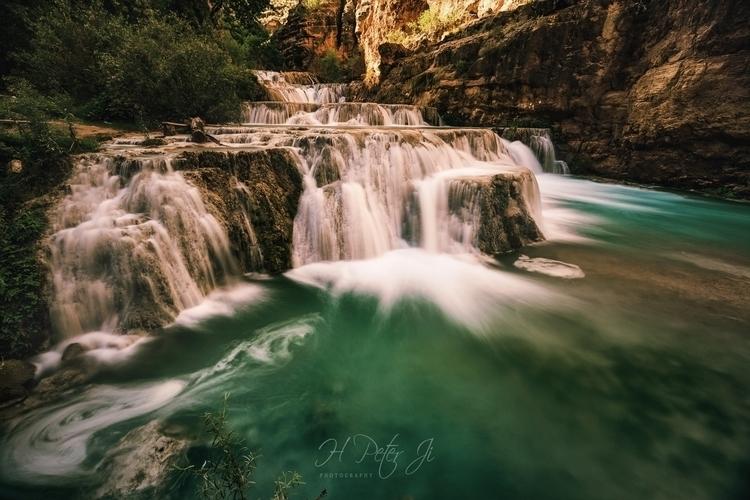 Stunning cascading waterfalls d - scorpioonsup | ello
