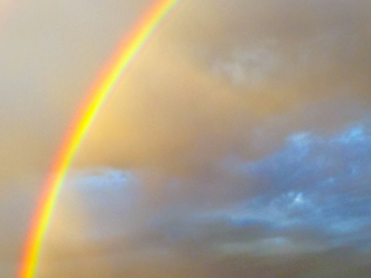 rainbow, happiness true; fulfil - sacrecour   ello
