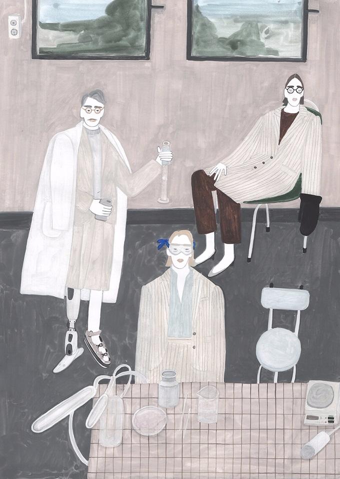 Illustrator Sainte Maria stole  - sandraapperloo | ello