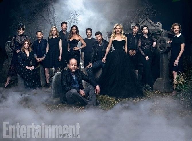 """Buffy Vampire Slayer"" cast reu - bonniegrrl | ello"