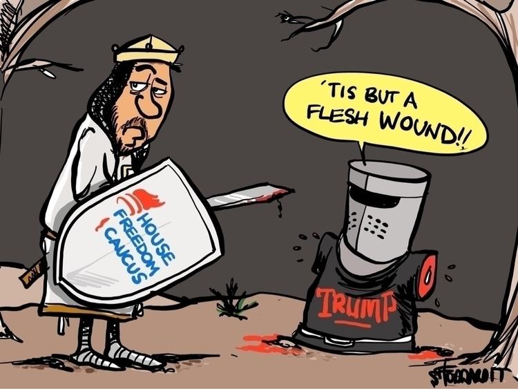 Flesh Wound - editorial,, political, - sstoddard | ello