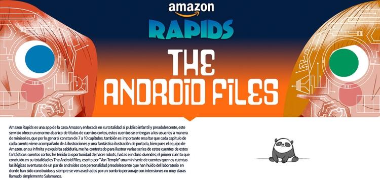 Ilustrations Amazon Rapids app - dblackhand | ello