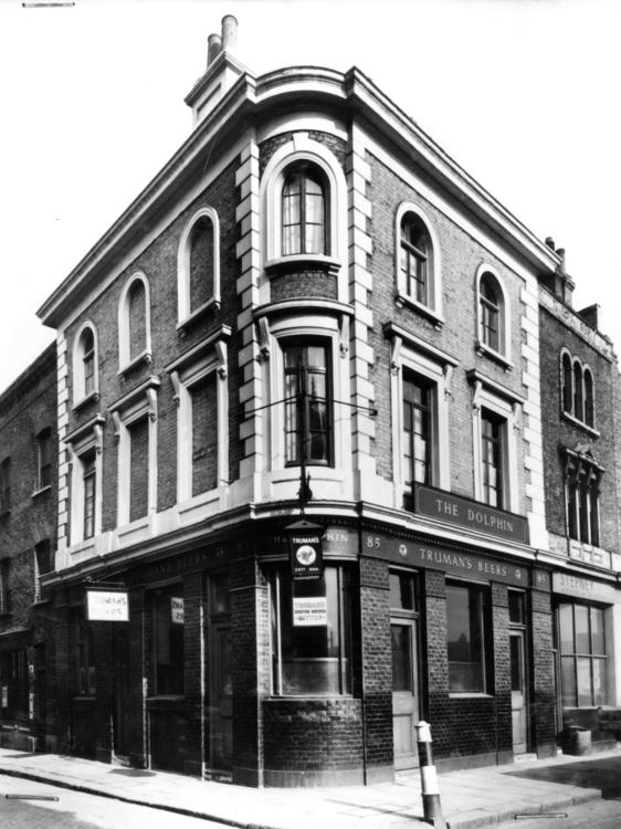 Dolphin Pub, 85 Redchurch Stree - rupertcole | ello