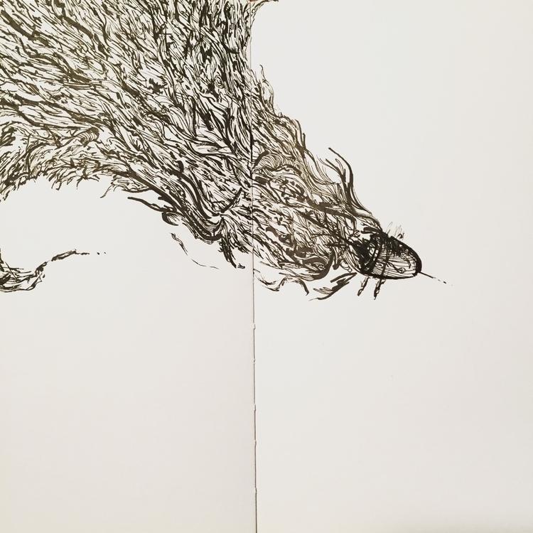 Missing bullets - art, doodle, sketch - leafmakers1 | ello