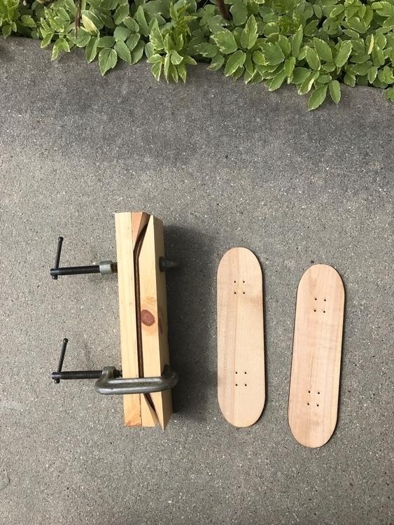 Making mini skateboards. 8 long - matt_shurtleff | ello