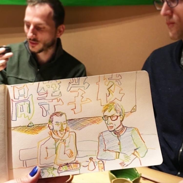 Enjoying veggies sake friends r - chenreichert | ello