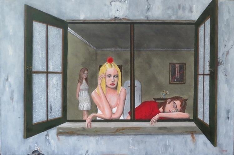 Joie de Vivre acrylic canvas, 9 - teragram1 | ello