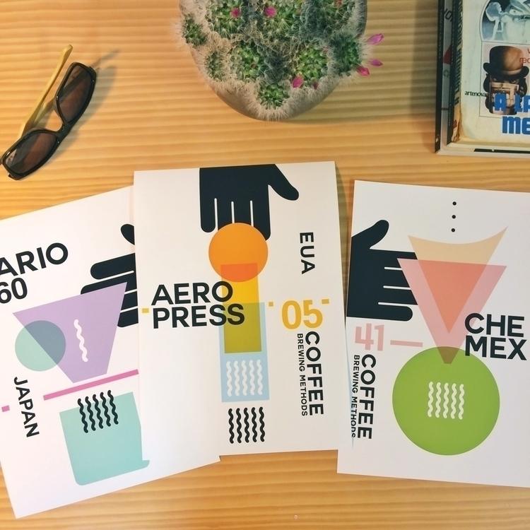 Hario V60 AeroPress Chemex - coffee - nacasadajoana | ello
