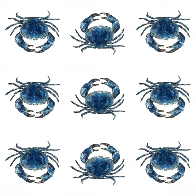 pattern, design, nautical, illustration - aliellydesign   ello