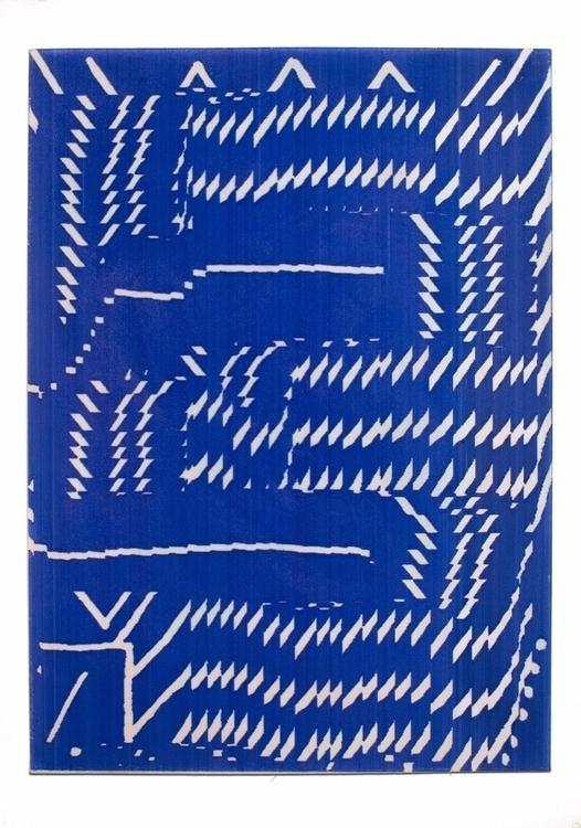 """Natan Lawson """"Blue Velvet"""" Acry - modernism_is_crap   ello"""