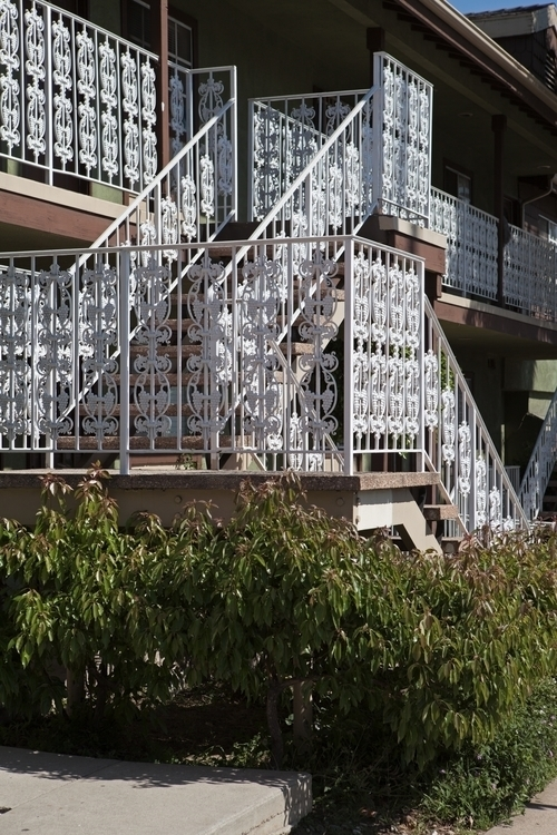 White Railings, Apartment Build - odouglas   ello