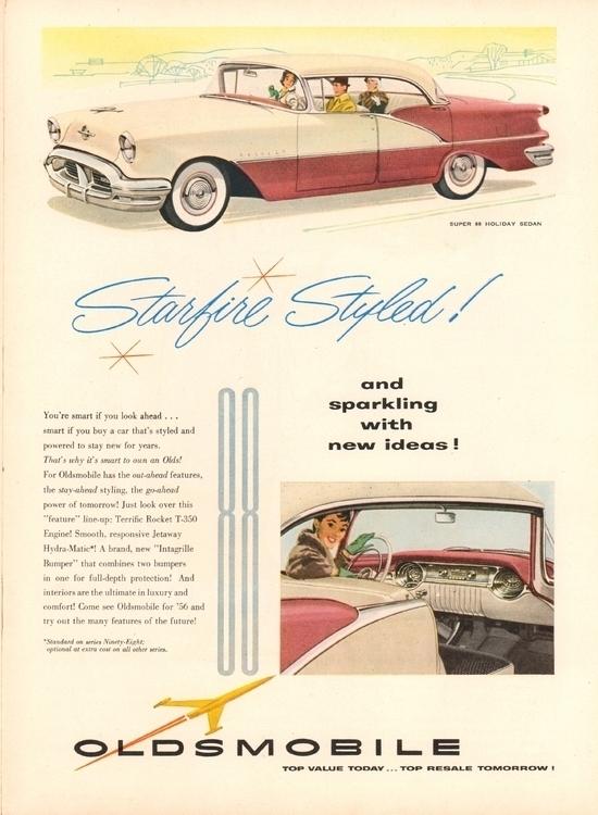Sparkling Ideas! 1956 Oldsmobil - kohoso   ello