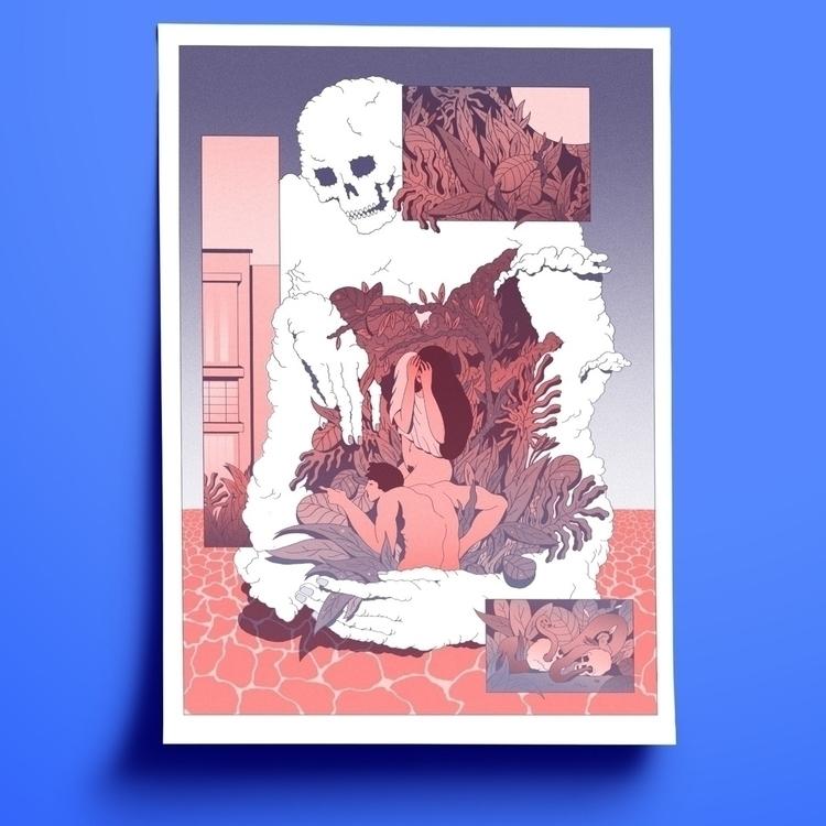 Ballade - illustration, poster, print - julien_brogard | ello
