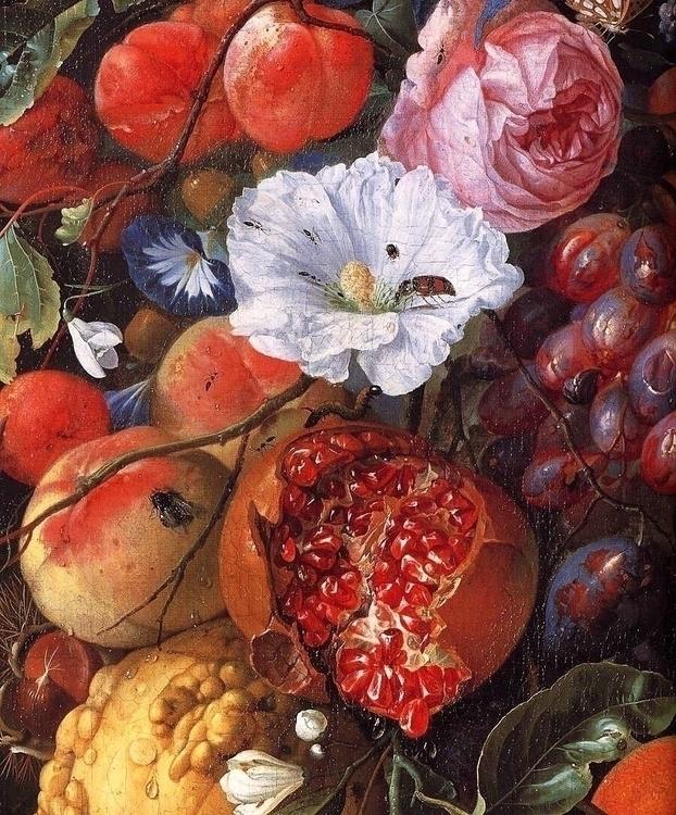 Festoon Fruit Flowers Jan David - sydbotanica   ello