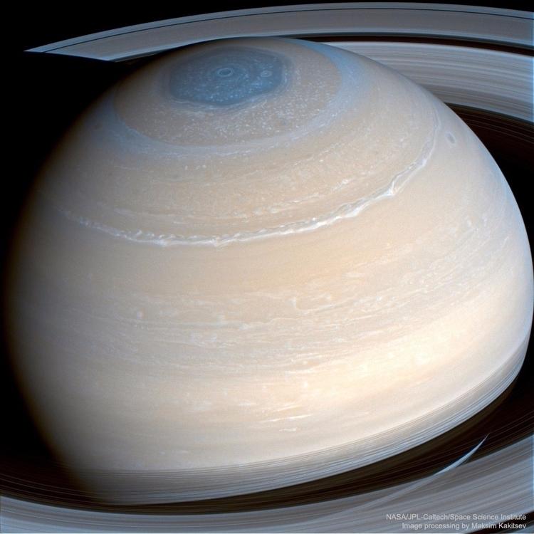 Saturn Infrared Cassini - saturn - valosalo | ello